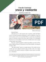 1- Blanca y Radiante_ Claudia Czerlowski