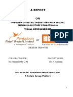 project report on effectiveness of promotional strategies at big bazaar Customer retention in retail sector marketing project topics, mba base paper, advertising thesis ideas, dissertation, synopsis, abstract, report big bazaar, a.