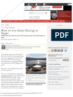 How to Use Solar Energy at Night_ Scientific American_2008