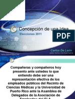Elecciones AEELA 2011