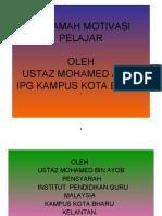 Motivasi Pelajar.microsoft Power Point Presentation (2)