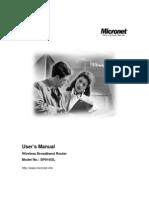 SP916GL Manual