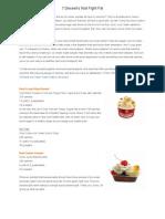7 Desserts That Fight Fat