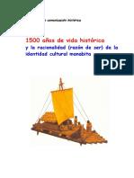 LIBRO . Manta, 1500 años de vida histórica