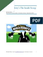 Ben and Jerry's The Inside Scoop Part II