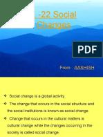 L -22 Social Changes