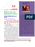 Deliverance for Spiritual Leaders
