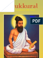 Tirukkural of Tiruvalluvar - English Translation - Complete