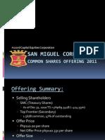 SMC Offering 2011
