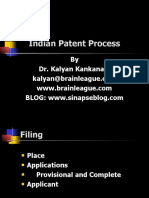 "A Presentation on 'Indian Patent Process and Prosecution"" by Dr. Kalyan C. Kankanala"
