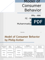 4. Model of Consumer Behavior1