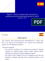 Spain Policy Measures (Feb-11)