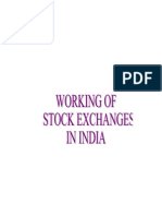 Working of Stock Exchange