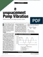 Positive Displacement Pump Vibration