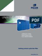 Piller Rotary Diesel Ups