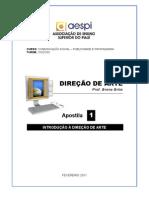 Dir Arte-Apostila01 - Introducao a DirArte