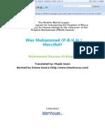 Was Muhammad Pbuh Merciful?!!