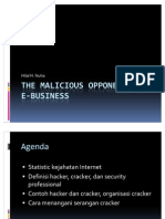 3 the Malicious Opponents Of