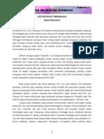 Analisis Novel Lestari Bukit Menghijau Zai