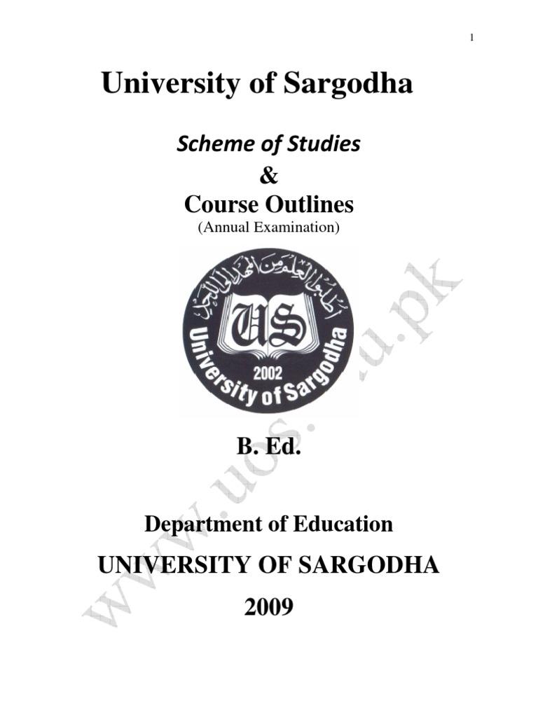 B_Ed | Educational Assessment | Teachers