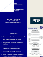 Topic 1 Human and Managerial Decison Making