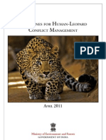 Guidelines for Human Leopard Conflict Management