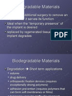 Bioresorbable Materials