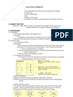 Lesson Plan Demo ELA 507