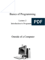 Lecture 2 of Programming