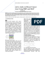 A Comparative Study on Breast Cancer Prediction Using RBF and MLP
