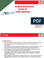 31780075 Titan Ppt on Consumer Behaviour