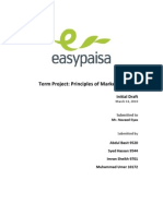 POM - Easy Paisa - Initial Draft