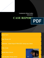 Case Report 1, Hipoglikemia Diabetic