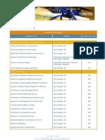 JRS Course List Award-Oct09