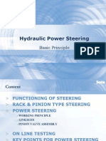 Principle of Power Steering
