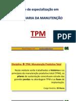 TPM - Manutenção Produtiva Total