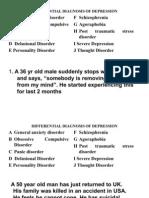 Psychiatry Plab 1