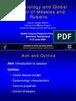 Epidim. & Control Measles & Rubella