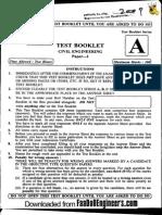 Objective Civil i - IES 2009 Question Paper