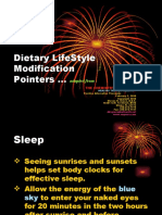 Dietary LifeStyle Modification