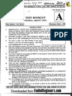 Gen Ability - IES 2010 Question Paper