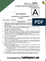 Mechanical Paper II - IES 2010 Question Paper