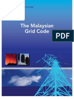 The Malaysian Grid Code