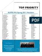 Top Priority ALPFA FIU Spr2011