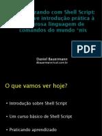 Automatizando Shell Script