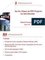 Experience Sharing & Workshop on Public-Private Partnership (PPP):Value for Money