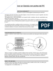 Manual de Bricolaje - Fabricar Ganzua Casera Con Partes de Un Pc- Abre Cerraduras(1)