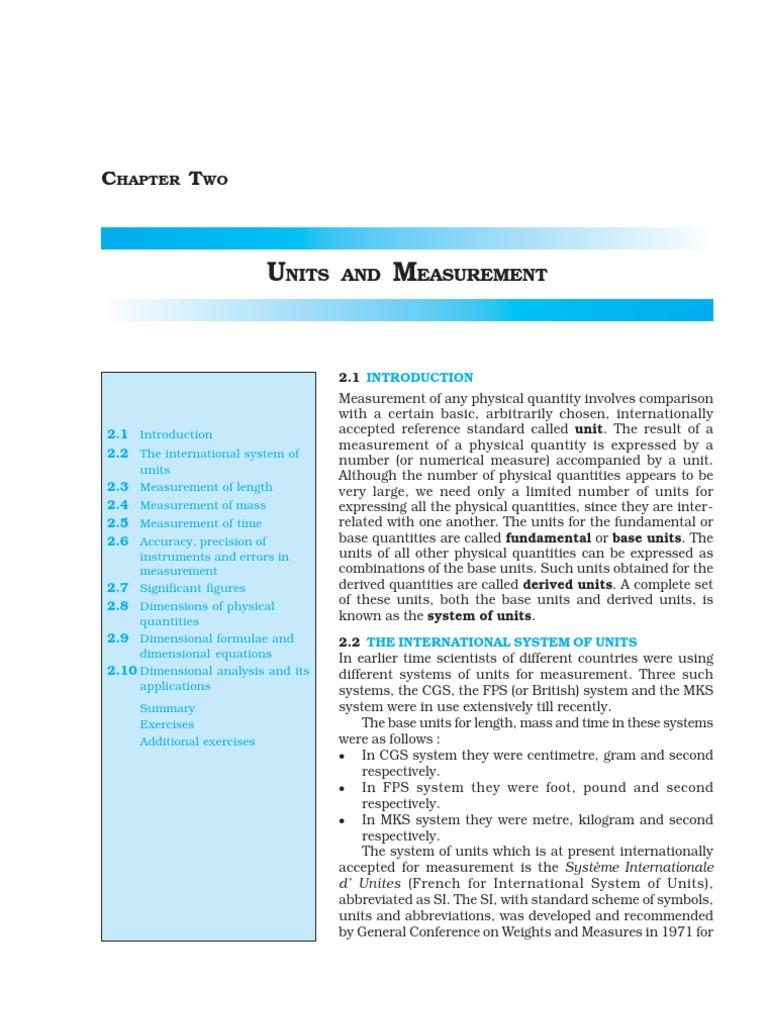 ncert ch2 physics class 11 | Observational Error