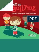 Cartilha contra o bullying do Ministério Público de Minas Gerais.