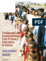 Challenges of Implementing Free Primary Education in Kenya